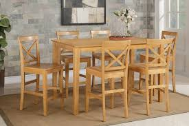 Awesome 6 Chair Pub Table Set Two Beyond Fairfield Sets Big ...