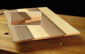 edge glue thin panels lap joints woodworking