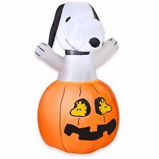 Airblown Inflatable Halloween Yard Decorations by Snoopy Pumpkin Inflatable Halloween Woodstock Airblown Yard