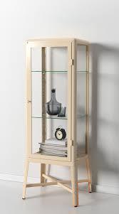 Ikea Detolf Cabinet Light by Detolf Glass Door Cabinet Black Brown Fleshroxon Decoration