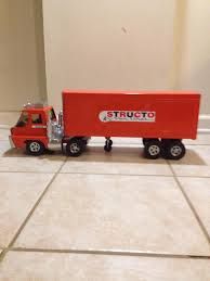 100 Truck Tractor Vintage Structo Toy Truck Trailer Semi Structo Van Etsy