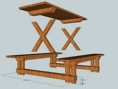web 0022 how make picnic table drink trough 500x245 wooden picnic