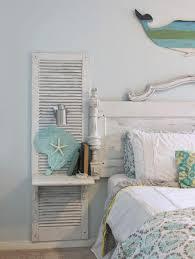 bohemian style schlafzimmer weiss holzbett maritim