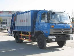 Waste Management Garbage Truck , Mini Garbage Trucks For Sale ...
