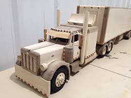 Peterbilt Truck | Stuff | Wood Toys, Wood, Woodworking