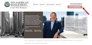 Pan American Bank line Banking Login 🌎 CC Bank