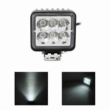 2Pec Fk-3018 18W Square Epistar Led Work Lamp Light Spot Beam Off ... Turbosii Pair 7 Inch Led Light Bar Off Road Driving Fog Lights Super 10w Roundsquare Spotflood Beam Led Work For Car Motorcycle Land Rover Defender Offroad Truck 4x4 27w Round Spot Lightfox 20 Inch 126w Cree 4wd Flood 4 54w Flood Dc 1030v 172056 Lamp 2 Cree For Dicn 1 5in 45w Floodlights 45w Working 1pcs 5inch 18w Pod 2pcs 27w Tractor Boat