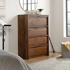 Sauder Harbor View 4 Dresser Salt Oak by Sauder Dressers U0026 Chests Bedroom Furniture The Home Depot