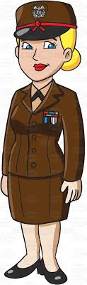 Showing Post Media For Cartoon Female Military