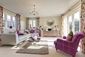 purple and living room ideas ceramic floor wooden glass