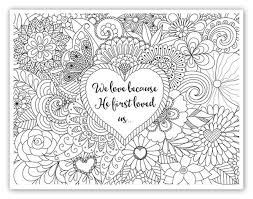 FREE Printable Christian Religious Adult Coloring Sheets W Bible Verses And Time Warp Wife Offers A Design From Her Website Every Friday