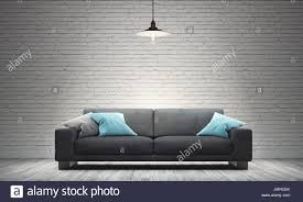 100 Modern Sofa For Living Room Room With Modern Sofa And Industrial Style Stock