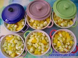 cuisiner la courgette jaune ratatouille jaune en cocotte cuisine et saveurs de lili