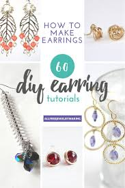 New Diy Earings Home Design Ideas Marvelous Decorating Under Diy ... How To Make Pearl Bridal Necklace With Silk Thread Jhumkas Quiled Paper Jhumka Indian Earrings Diy 36 Fun Jewelry Ideas Projects For Teens To Make Pearls Designer Jewellery Simple Yet Elegant Saree Kuchu Design At Home How Designer Earrings Home Simple And Double Coloured 3 Step Jhumkas In A Very Easy Silk Earring Bridal Art Creativity 128 Jhumka Multi Coloured Pom Poms Earring Making Jewellery Owl Holder Diy Frame With