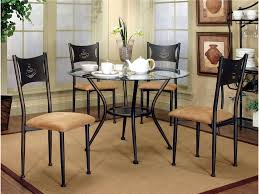 Cramco Trading Company - Maxwell Four Antique Bronze/Tan Microsuede Side  Chairs With 42