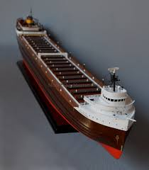 Edmund Fitzgerald Sinking Cause by Edmund Fitzgerald Ship Model 44 Inches 111 Cm Long