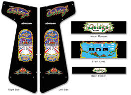 Xtension Arcade Cabinet Plans by Graphics For Graphics Arcade Galaga Cabinet Plans Www