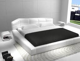 White Modern Bed Designs The Holland Enhance The Beauty