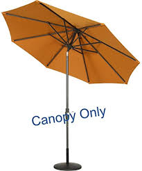 Market Umbrella Replacement Canopy 8 Rib by 18 9ft Market Umbrella Replacement Canopy 8 Ribs 9ft
