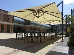 fset patio umbrella polyester acrylic aluminum VENEZIA