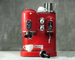 Kitchenaid Coffee Makers Red Kitchen Aid Espresso Machines Personal Maker Kcm0402er 4 Cup Empire