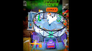 Lemax Halloween Village 2017 by Lemax Halloween Spooky Town 2017 Michaels Collection Youtube