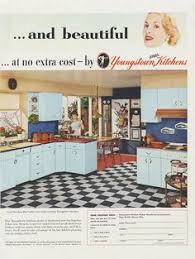 Vintage Youngstown Kitchen Sink by Magazine Ad For Youngstown Kitchens Steel Cabinets U0026 Sinks 1955