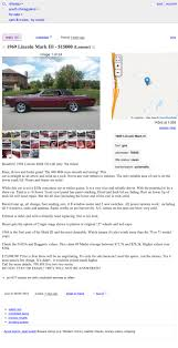 100 Craigslist Illinois Cars And Trucks By Owner At 15000 Could This 1969 Lincoln Continental Mark III Drive You