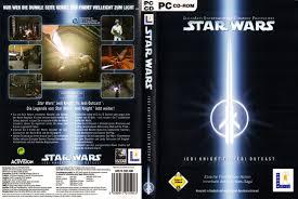 si e pc wars jedi 2 jedi outcast pc cover german german dvd covers