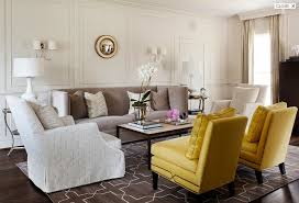 yellow and gray living room transitional chairs best 25 rooms