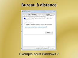 bureau a distance windows 7 bureau windows 7 bumtop sublime le bureau de windows 7 module 2