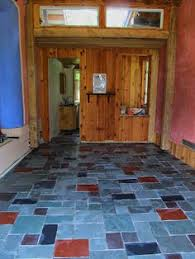 perfection floor home style slate flooring used in a home https
