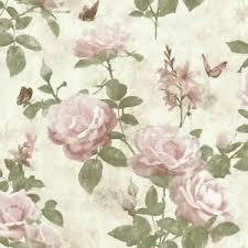 details zu tapete vintage pink natur romantik schlafzimmer wandtapete papiertapete