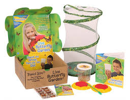Butterfly Garden Bonus Pack with TEN Live Caterpillars