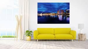 dublin city skyline wandbild kunstdruck foto poster p1523