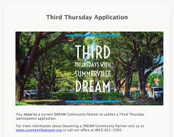 Third Thursdays - Summerville DREAM