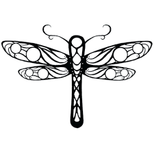Dragonfly Coloring Page Drawings Library Sheets Printable