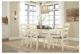 Woodanville Dining Room Table And Chairs (Set Of 7) | Ashley ... Available Now Kartell Masters Chair Heals Ding Tables Chairs Keenerschultz Mesh Top 42 Umbrella Table Woodard Fniture Wild White Oak Oliveto Ez Living Coffee Walker Edison Shop Rowyn Wood Extendable Set By Inspire Q Artisan Aida Ivory And Gold Esf Cart Amazoncom Hlandale Outdoor Cast Alinum Room Mor For Less Center Flaybern Brown Counter Height W4 Bar Stools Gracie Oaks Poe Crossbuck Reviews Wayfair