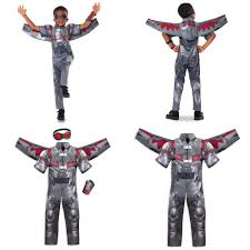 Falcon With Our Cool Costume Padded At The Shoulders It Comes Superbly Detailed Wings And A Pair Of Tinted Goggles Completes Awesome Look