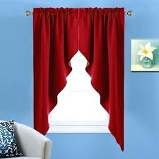 Dining Room Tier Curtains Window Valances And Swags Darkening Rod Pocket Kitchen Tailored