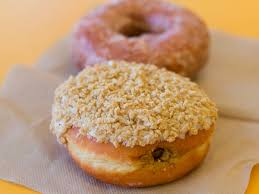 Pumpkin Spice Latte Dunkin Donuts Ingredients by We Try The New Pumpkin Pie Doughnut At Dunkin U0027 Donuts Serious Eats