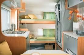 Modern Caravan Interior Rv