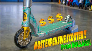 BUILDING WORLDS MOST EXPENSIVE SCOOTER 1100 DOLLARS