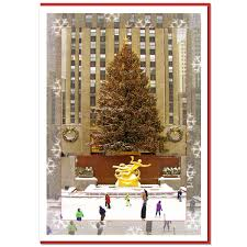 Rockefeller Plaza Christmas Tree Address by Ny Christmas Boxed Cards Product Categories Ny Christmas Gifts