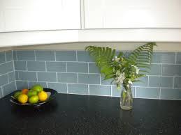 3 x 6 jasper blue glass subway tile kitchen backsplash