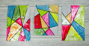 A Fabulous Faux Stained Glass Art Activity For Children This Is Fun And Simple