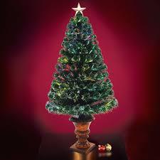 Small Fibre Optic Christmas Trees Uk by Optic Fiber Christmas Trees The 4 Fiber Optic Twinkling Tree White