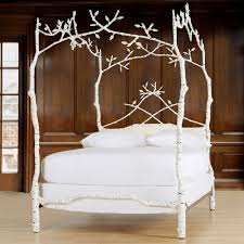 Twin Metal Canopy Bed Pewter With Curtains by Rivendell Canopy Bed I Want This Bed Frame Soo Bad It U0027s Absurd