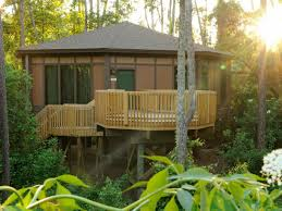 Treehouses Where You Can Stay   Kid-Friendly Lodging Our Work Tree Houses By Dave Modern Treehouse Designed As A Weekender In The Backyard For 9 Completely Free House Plans Funky Video Hgtv Cool Designs We Wish Had In Our Photos Steal This Look A Fort Gardenista Child Within Max Backyard Treehouse Scene Tree Incredible Treehouses You As Kid The Design Dome 25 Ideas Youtube