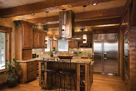 Log Cabin Kitchen Island Ideas by Log Home Kitchen Design 1000 Images About Cabin Kitchens On